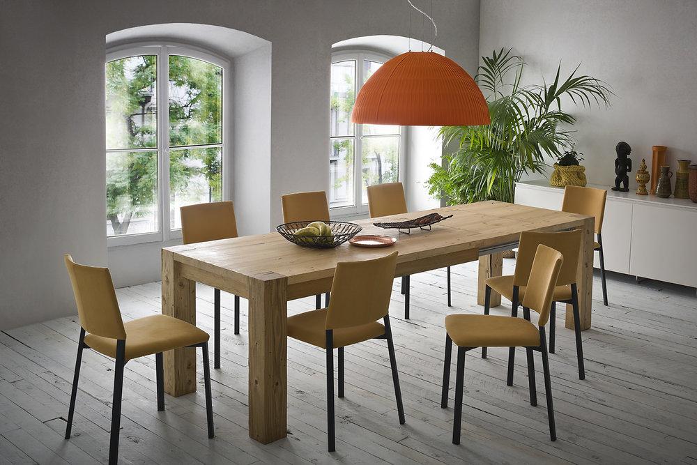 tavolo massello legno