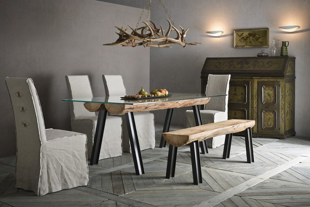 tavoli rustici coutry industrial sedit