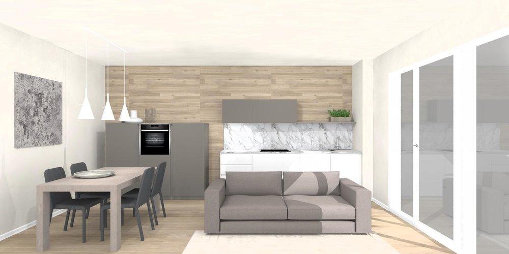 progettazione d'interni modena cucina euromobil