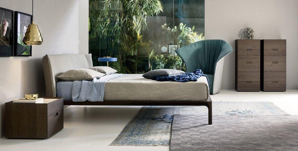 letto legno e imbottito