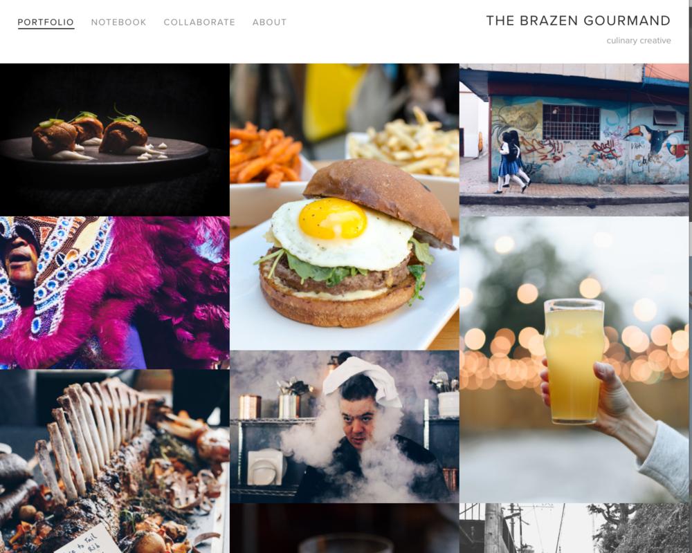 - The Brazen Gourmand