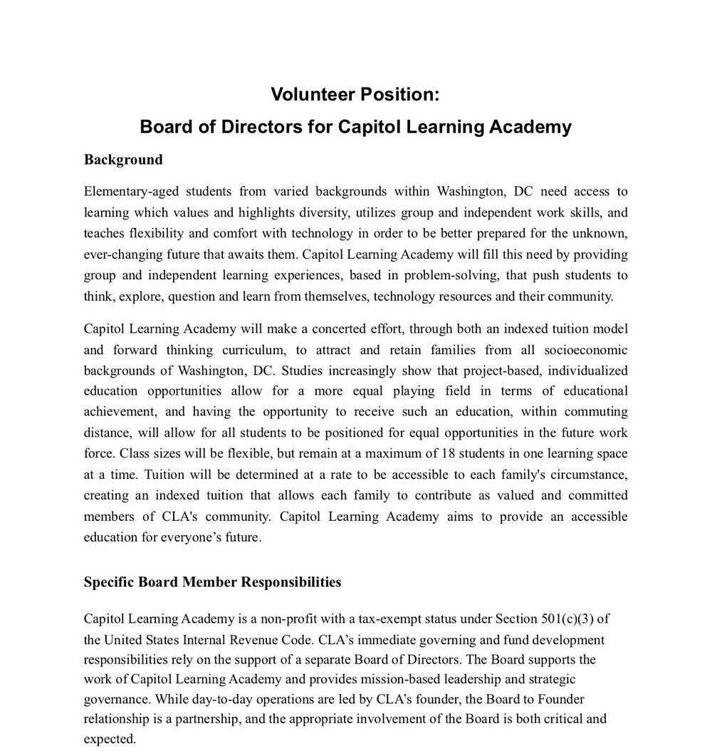 VolunteerPositionBoardofDirectorsfor Capitol Learning Academy.jpg