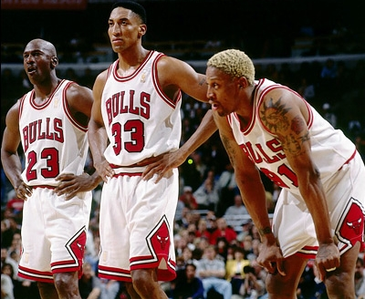 "I still think even these ""super teams"" of today couldn't beat the '96 Bulls"