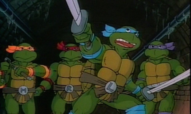 "Leonardo: ""Black Friday sales!  Let's go, guys!  Turtles shop with honor!"""