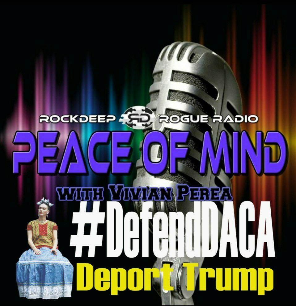 This episode of #PEACEOFMIND is dedicated to Alejandra Pablos, a nationally recognized immigrant and reproductive rights activist, who is currently being illegally detained by ICE agents in Arizona. @ROCKDEEPROGUERADIO will continue to keep you updated on her case. We love you Ale!!! Please  sign this petition  and help us get her released.  Recorded at the FXBG Pirate Radio Studios in Fredericksburg, Va on March 7th, 2018.
