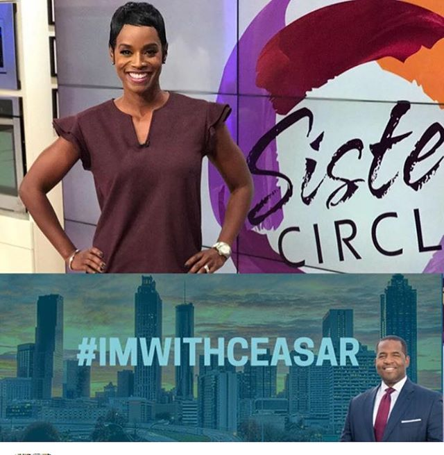 Thank you for standing with me @rashanali and for all you do in the community! You make Atlanta so very proud. I won't let you down. I will stand. #OneATL #StandWithCeasar