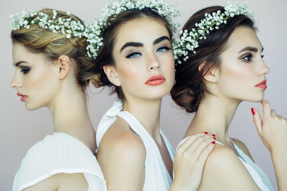 Bridal Updos - Bridal preview: $100bride: $125Bridesmaid:$75+