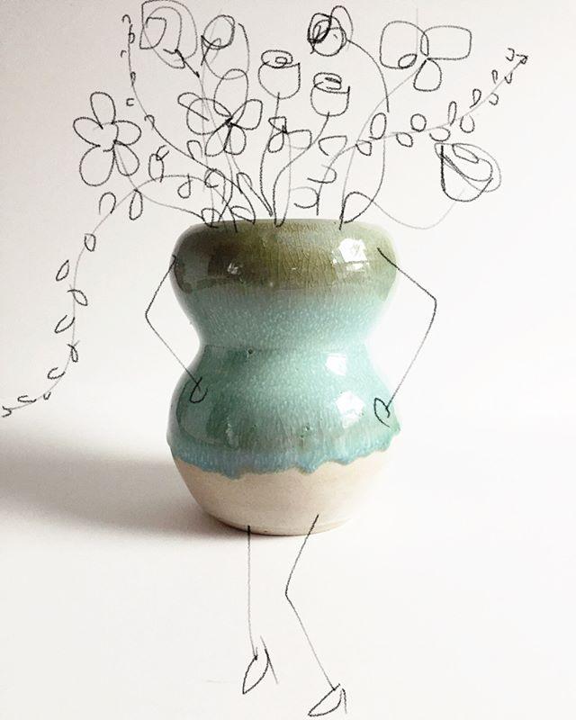 You can dress it up any way you like #vase #art #igart #genderisasocialconstruct