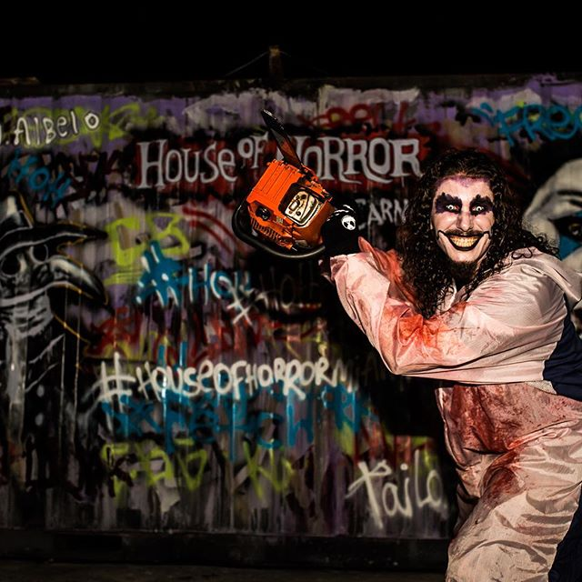 Those that don't go mad every once in a while, eventually go made permanently. 😈 #HouseofHorrorMiami #HOH18