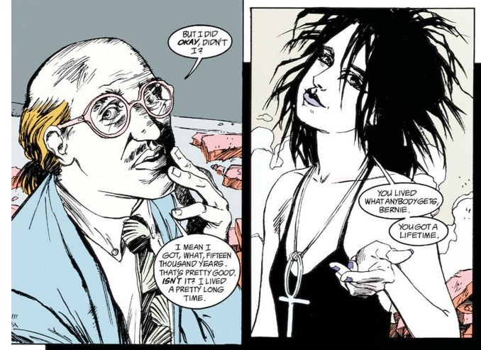 (from  The Sandman . 'Brief Lives', Issue #43)