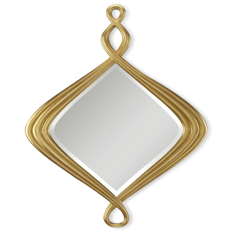 Pirouette Mirror - Style is in the details. Meticulously crafted frame of beauty that will be treasured for a lifetime. Available in 20th C silver 31