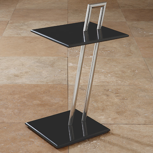 Shear Tray Table - Marble top and bottom, Metal base.16