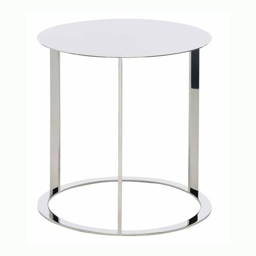Vera Side Table - Polished Stainless Steel Side table. 16