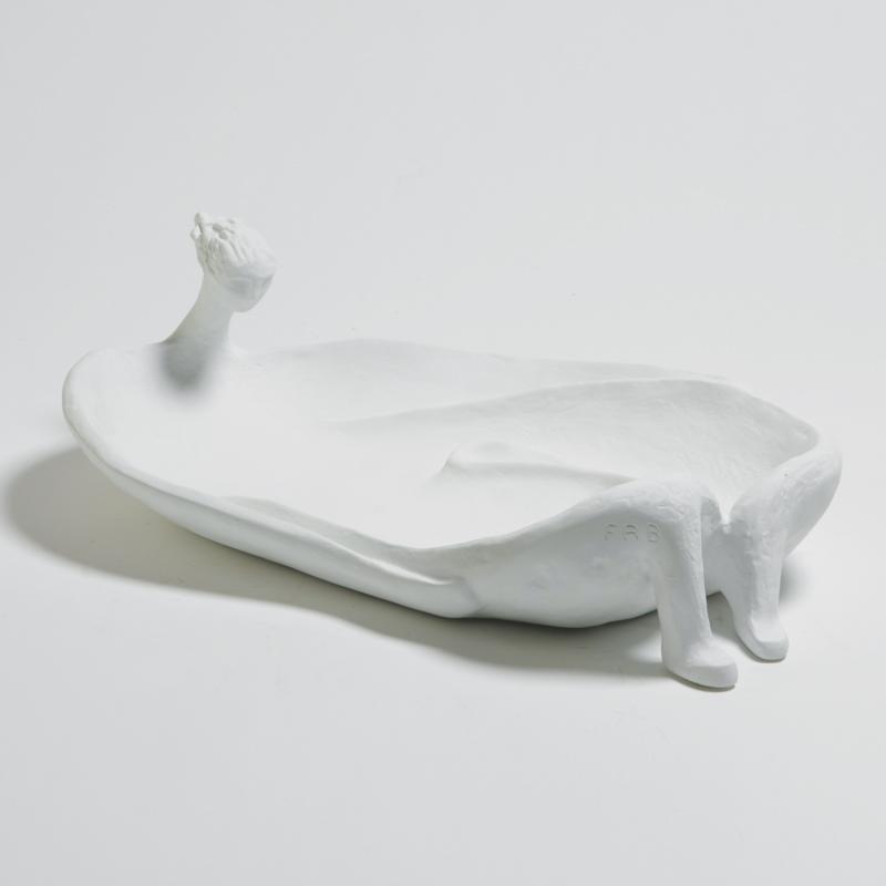 La Femme Baignoire - Parisian Sculpture Francois Rene Bergerun. Late 70's . A real pice to admire