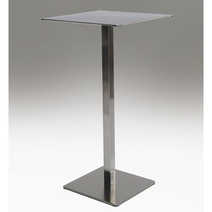 Statum Bar Table - Polish Stainless Steel, perfect for outdoors during the summer days 22