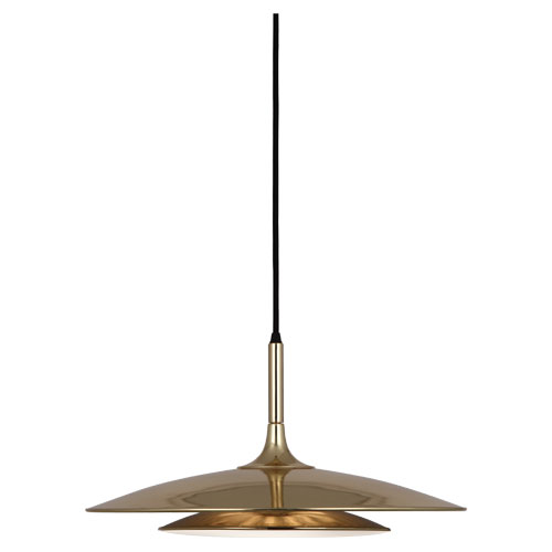 Axiom Pendant - Specs:  3 - 35W Max. Bulb Type: 120V G9 Bi-Pin Halogen Bulbs Included Direct Wire Polished Gold Finish Frosted, White Cased Glass Diffuser Susp. Hardware: 12ft Black Fabric Wrapped Cord