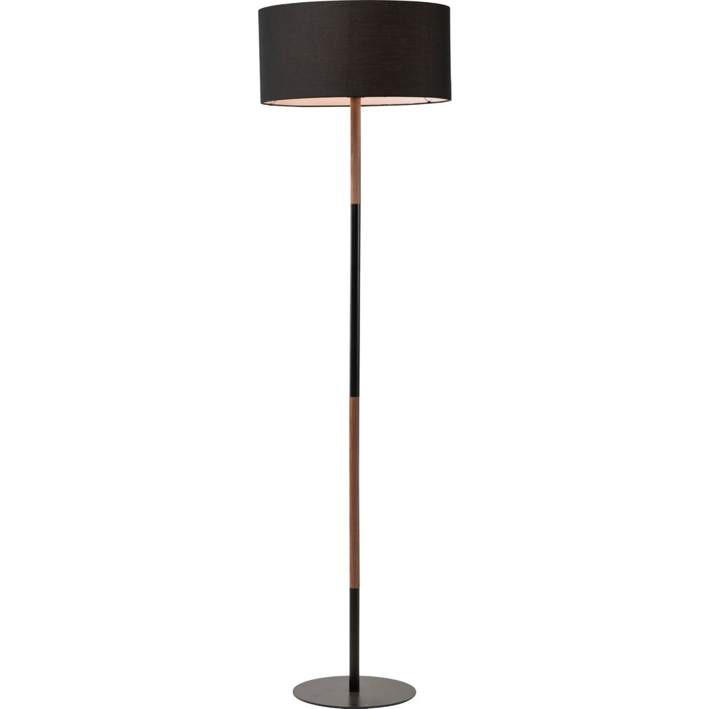 Monroe Floor Lamp - Fabric shade: ø 17¾ x 8¾