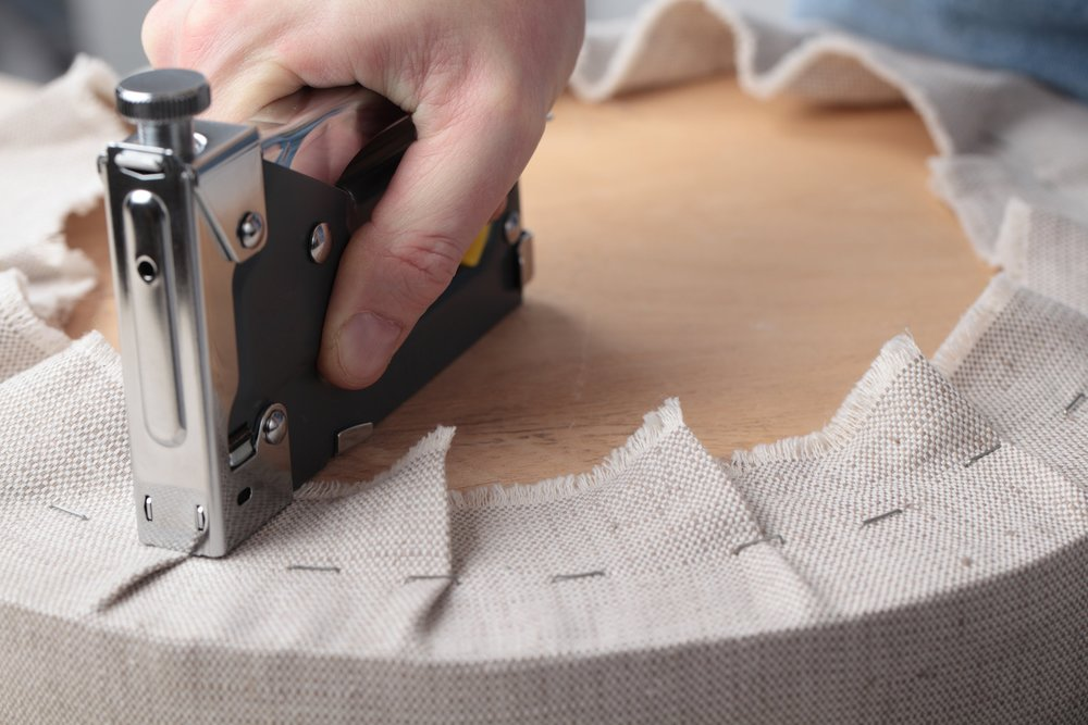 UPHOLSTERING - We re-upholster furniture, window dressing, panels, bedding. We have been working since 1998 with Interior Designers, Decorators and Home Stylists.