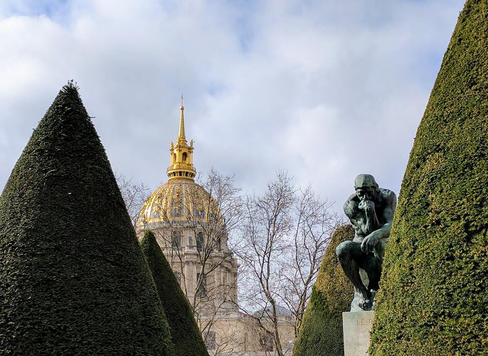 Rodin Sculpture Garden, Paris