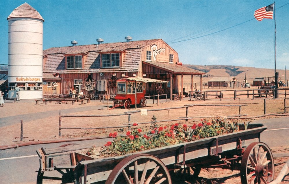 Porter's Western Store, Buffalo Ranch by the OC Archives