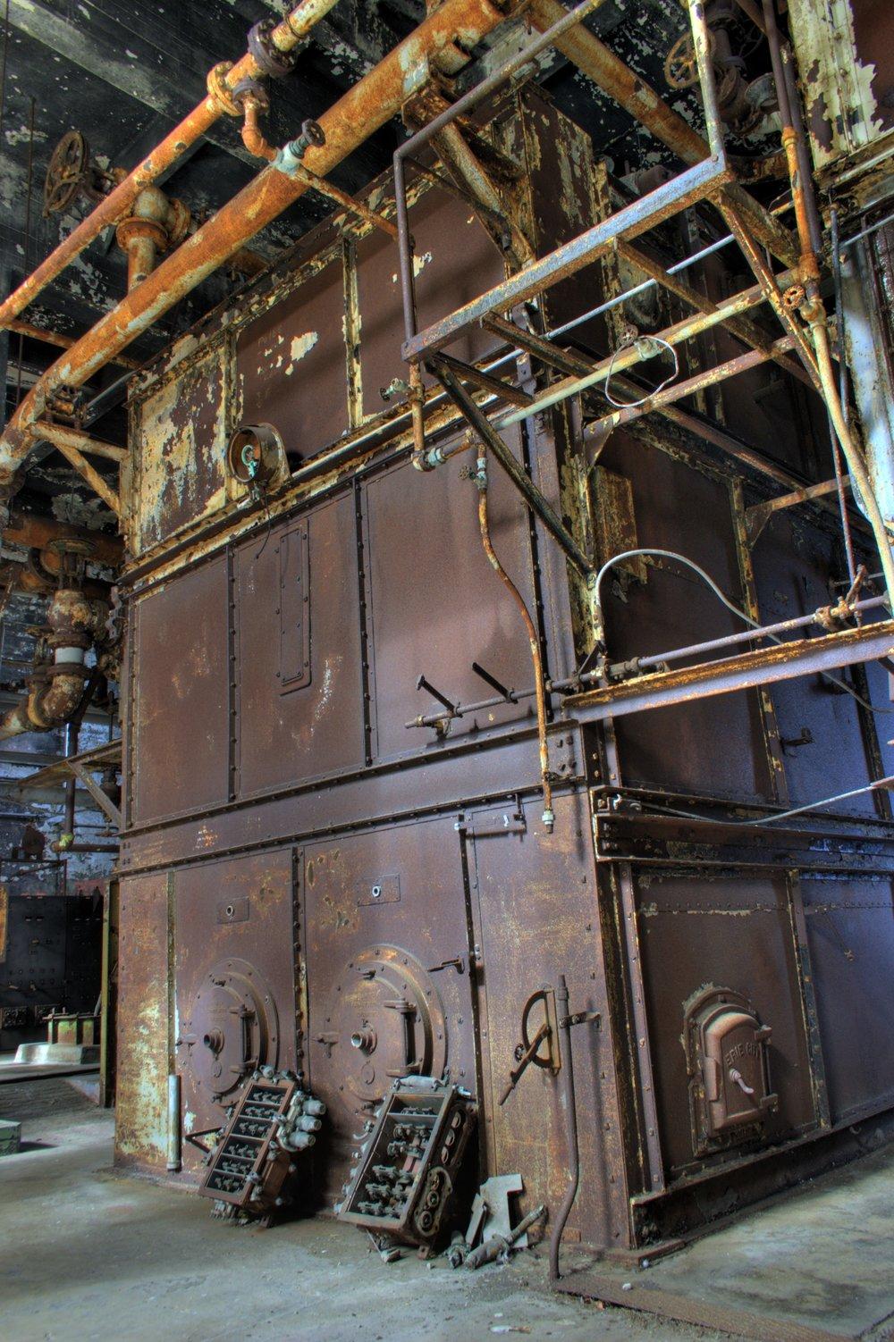 Old Alcatraz Boiler by Jonathan Haeber