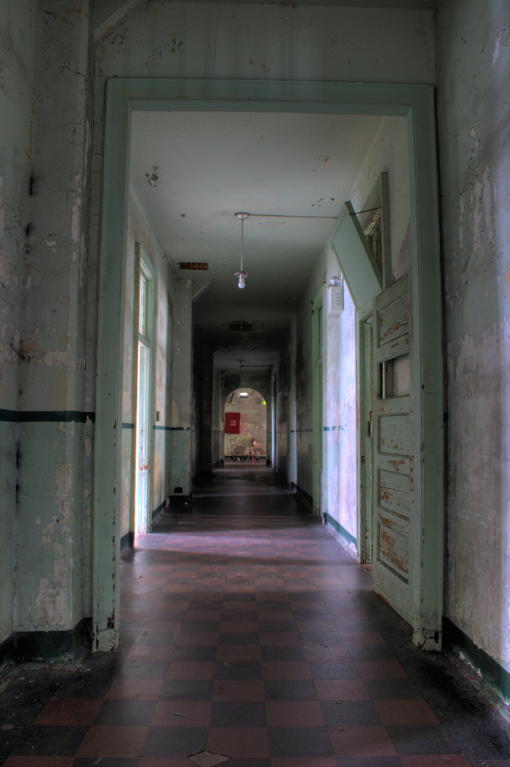 Ward Hall, Top Floor, Alcatraz by Jonathan Haeber