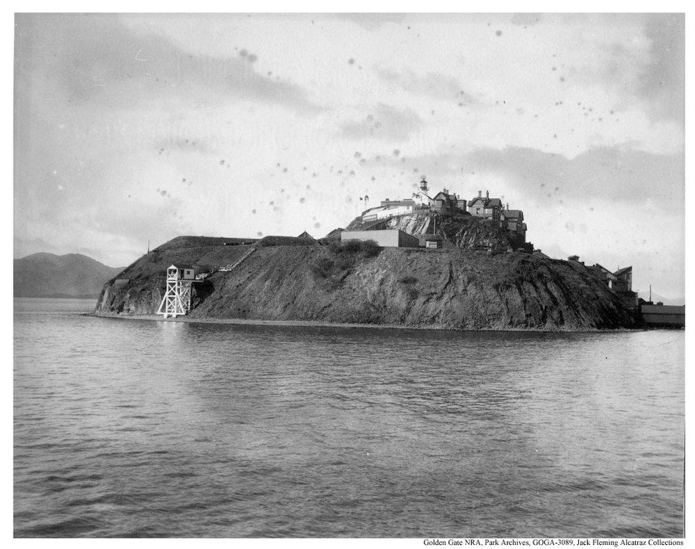 Alcatraz Island, c.1898