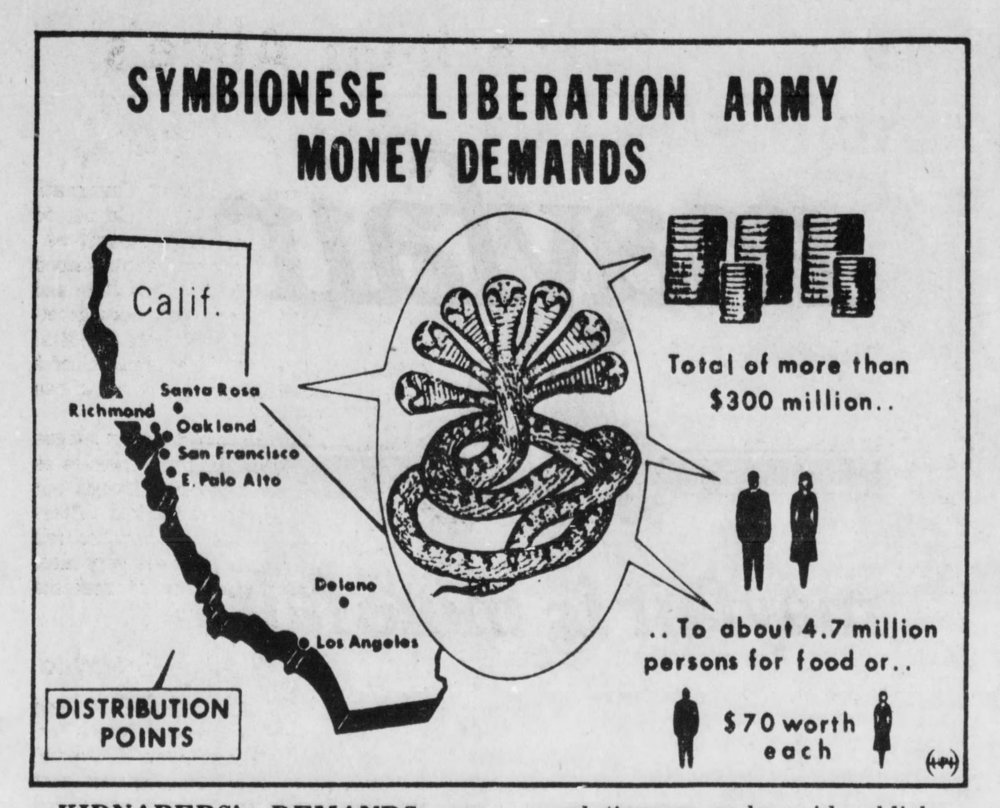 Featured in several newspapers nationally, the Army's demands.