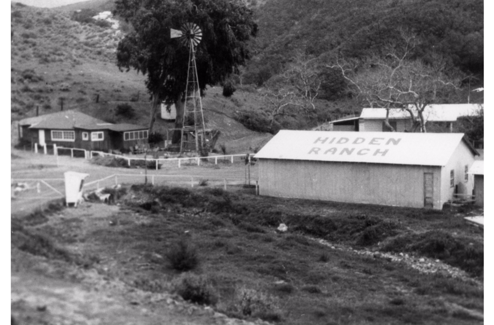 1960's shot of Hidden Ranch, courtesy of OC Archives
