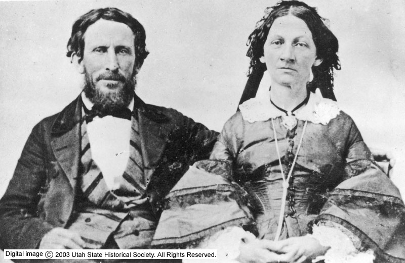 James and Margaret Reed. From the Utah Department of Heritage and Arts.