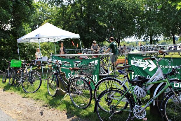 Vancouver Farmers Market Bike Valet