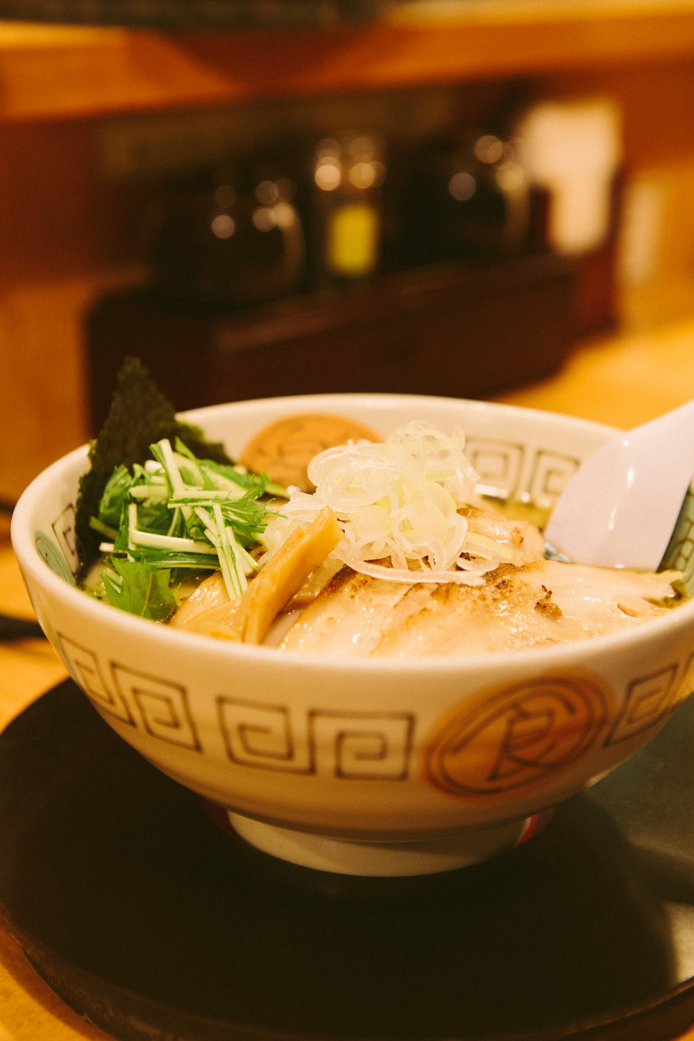 Tomiya - the first meal we had in Japan ever - turned out to be one of the best ramen we've ever had! Japan, 〒160-0023 Tōkyō-to, Shinjuku-ku, Nishishinjuku, 1 Chome−19−2
