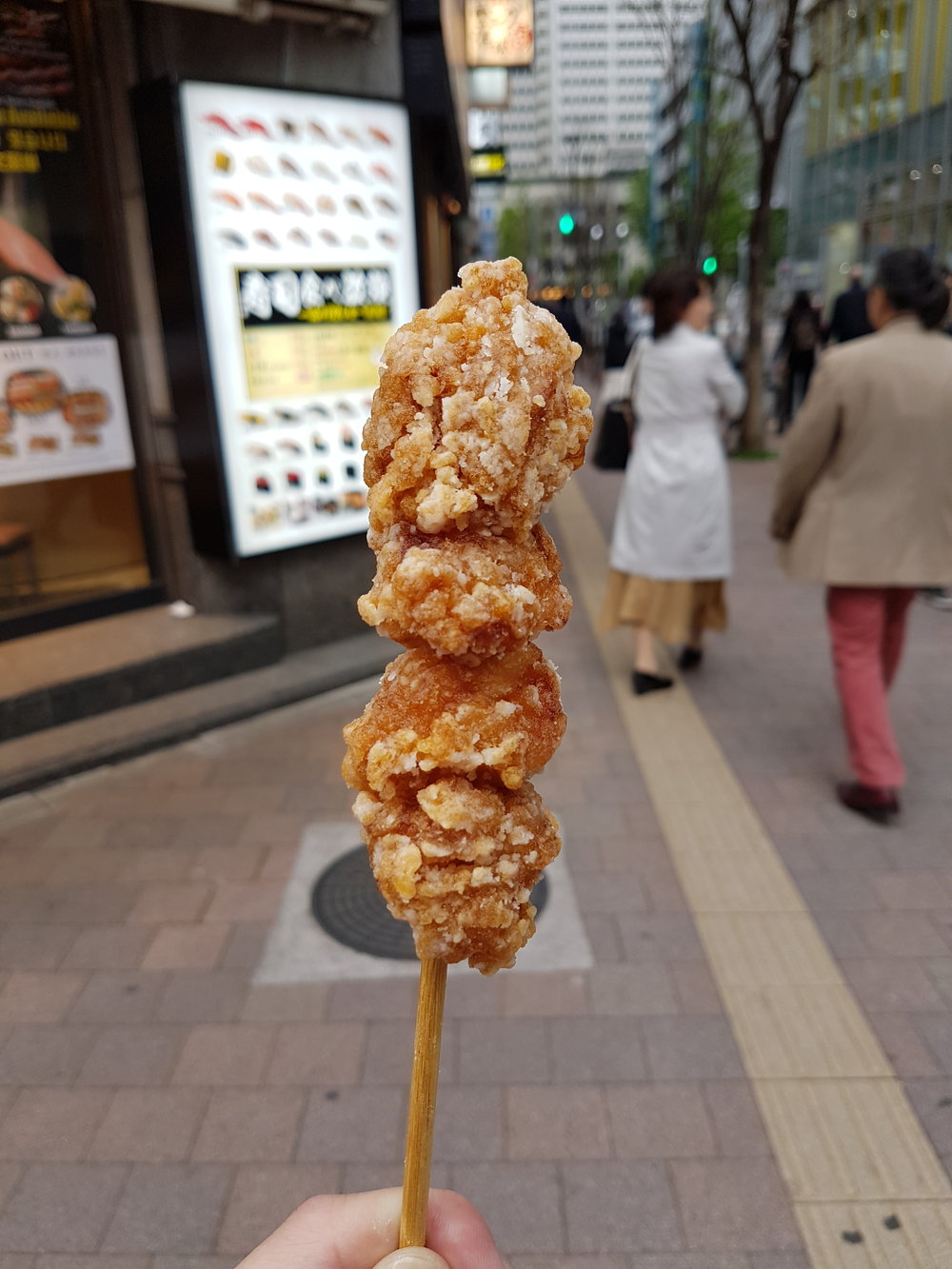 7-11 and their awesome chicken karaage!