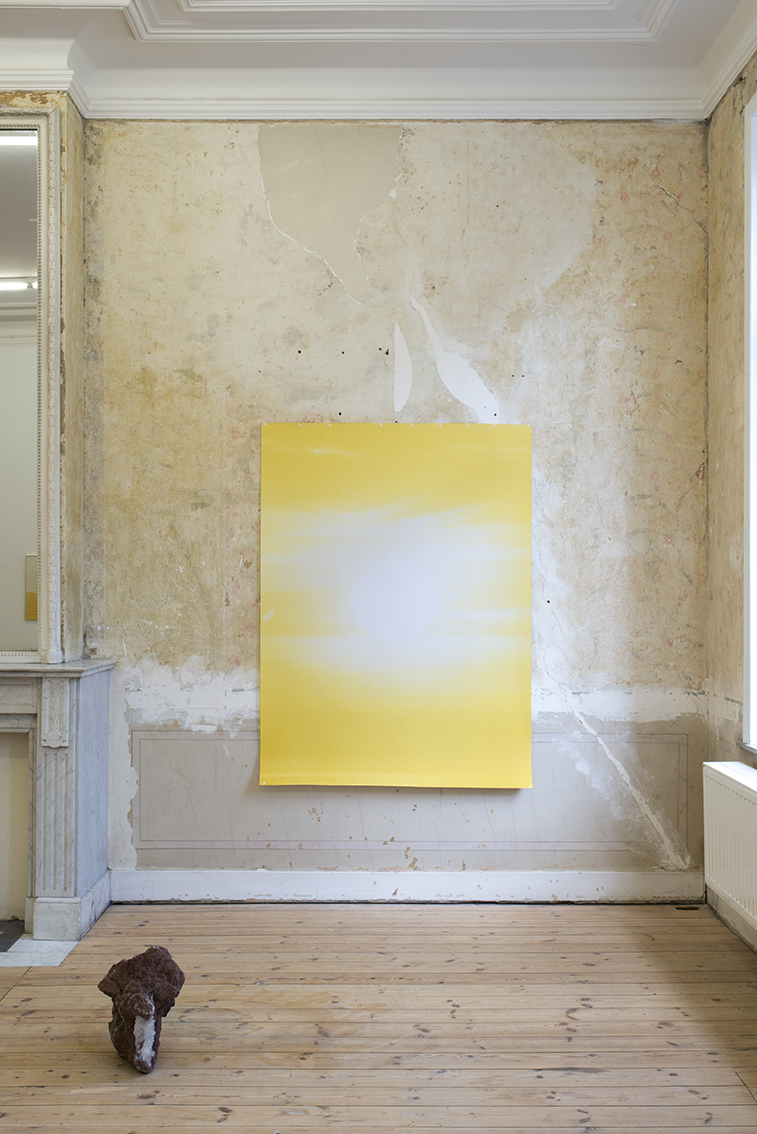 Rising Sunset , Sébastien Reuzé, exhibition view, Catherine Bastide gallery, Brussels, 2017