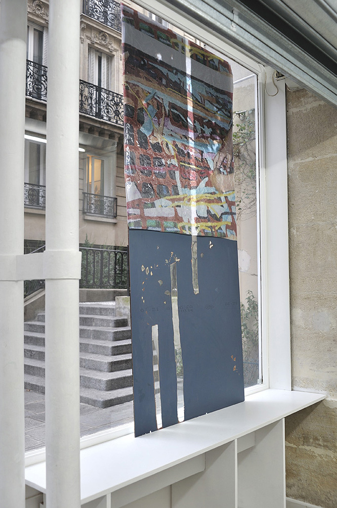 Valerie Snobeck,  Window Replace , 2010 (View from inside)