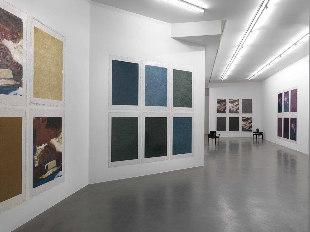Valerie Snobeck,  Le monde, le continent, la France, etc...,etc..., la rue de Bizerte, moi, Simon Lee Gallery, 2014, exhibition view