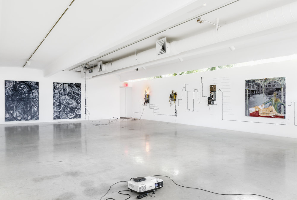 Embodiment , Galerie Catherine Bastide at The M BUILDING Miami, 2015, exhibition view