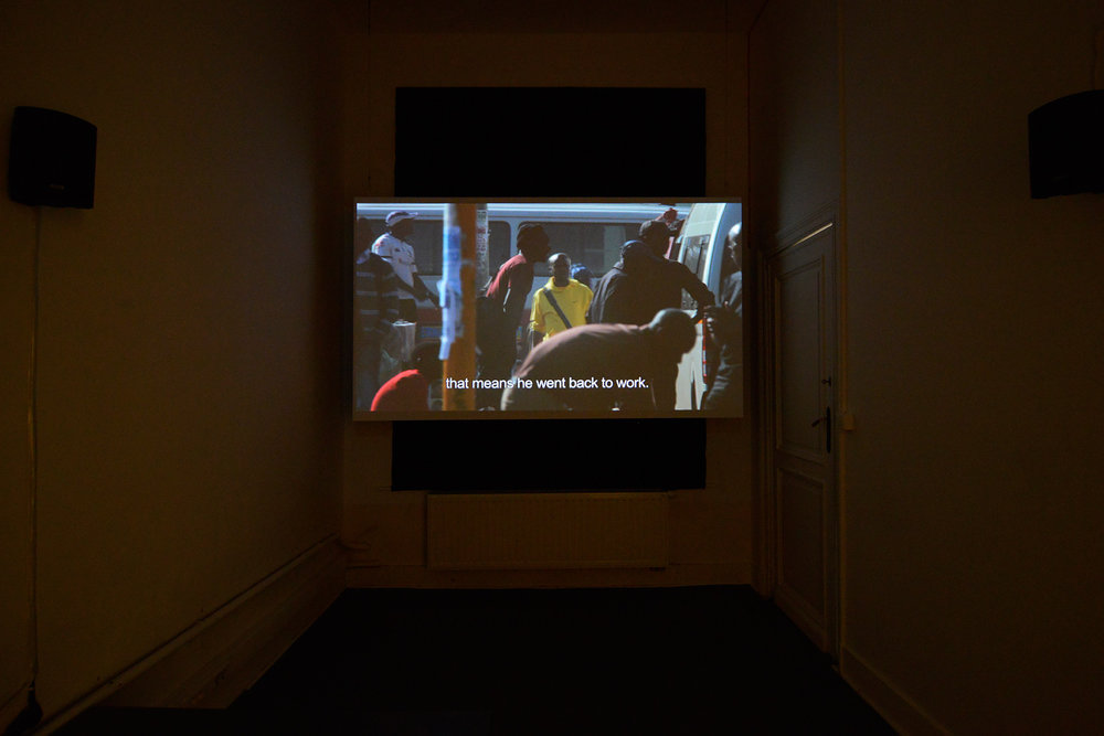 Andy Okoroafor,  Graceland , 2014, video 18 min 11 sec