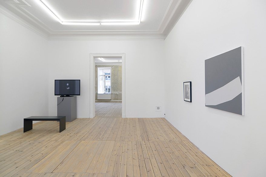 Joe Mama-Nitzberg, Catherine Bastide gallery, group show, 2015, exhibition view