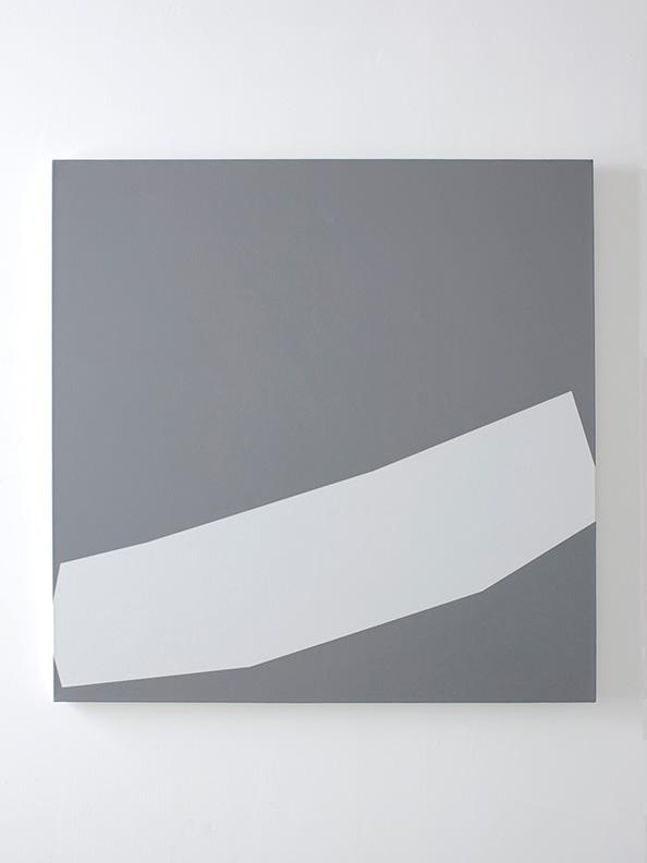 Joe Mama-Nitzberg,  Nevermind, 2008, acrylic on canvas, 39 x 39 inch