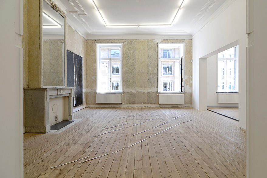 Nicolas Bourthoumieux, Catherine Bastide gallery, group show, 2015, exhibition view