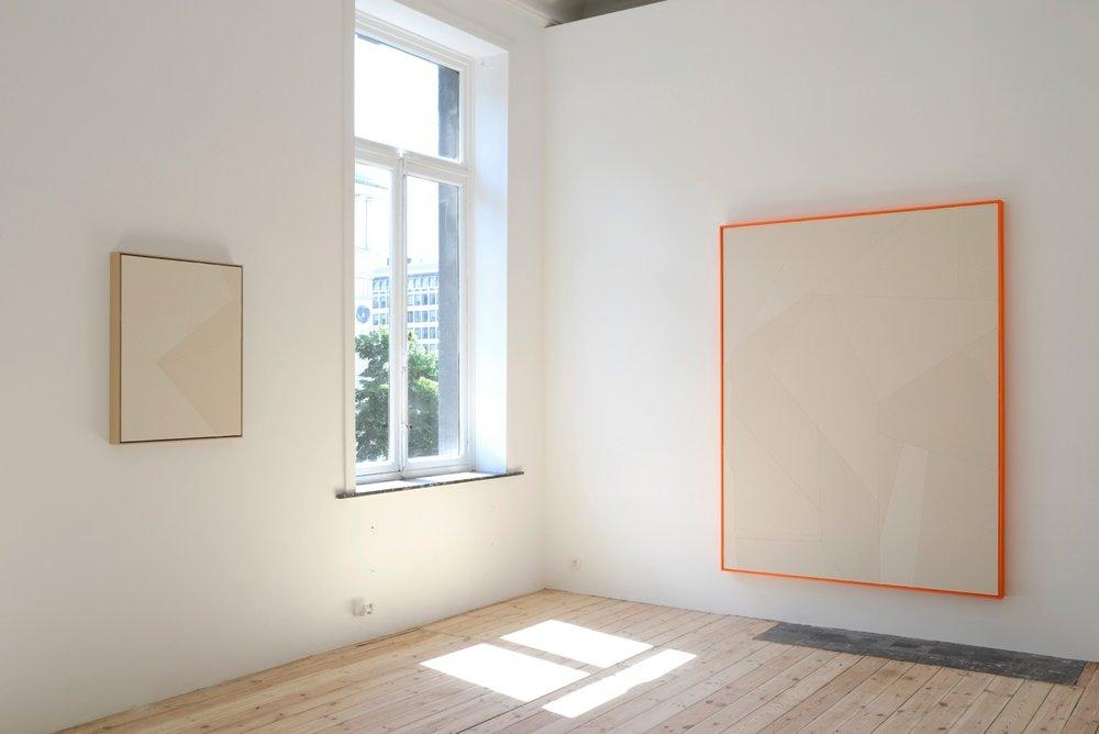 Sarah Crowner,  Motifs, Catherine Bastide gallery, Brussels, 2014