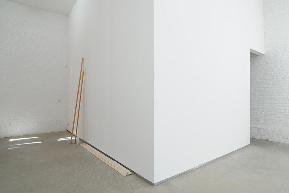 Manuel Burgener, Catherine Bastide gallery, Brussels, 2013, exhibition view