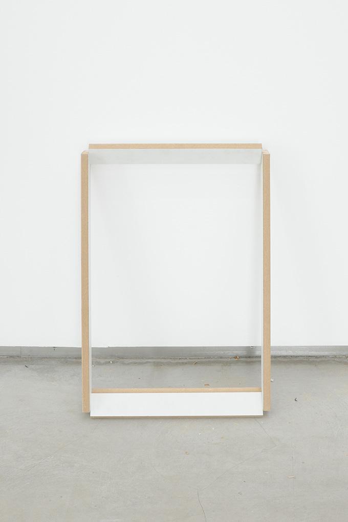 Manuel Burgener,  Untitled,  2013, mdf and screws, 47.5 x 30.5 x 5.1cm