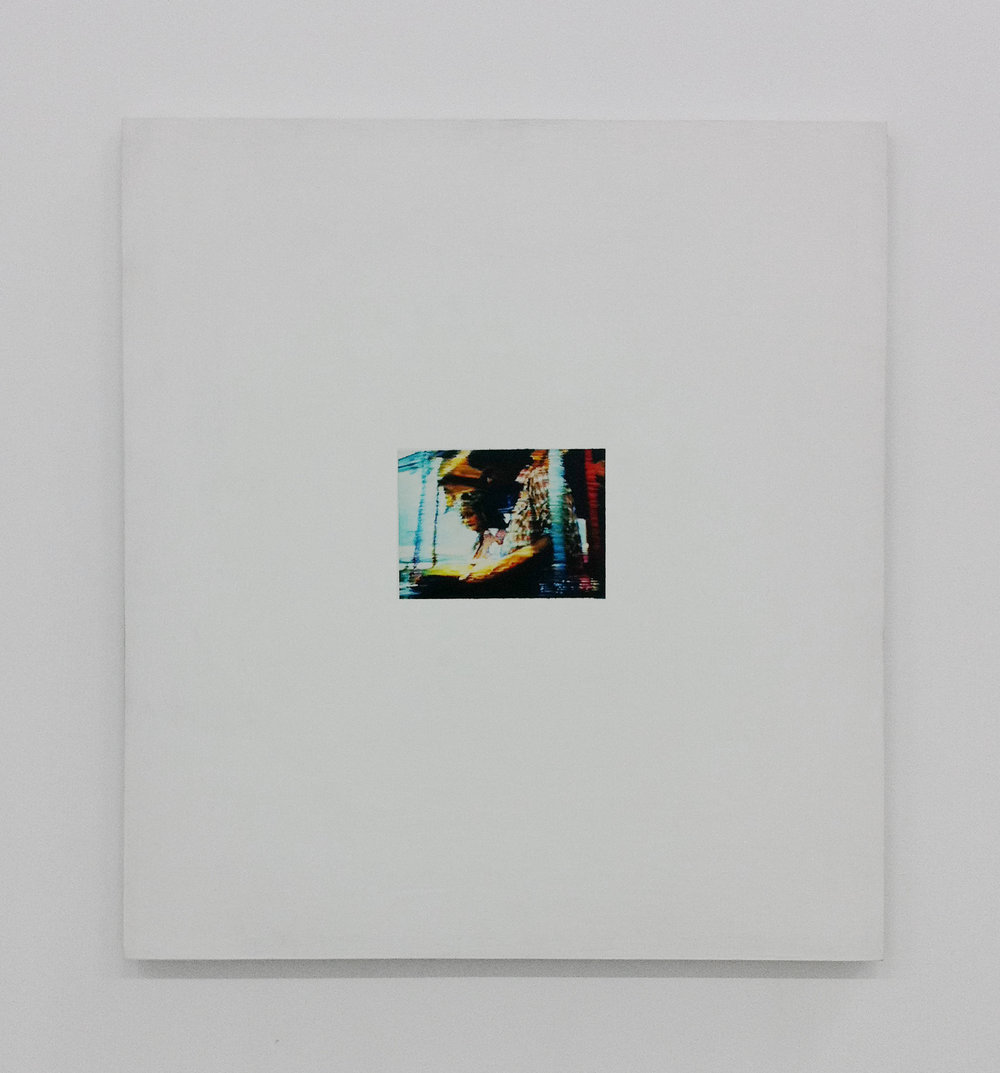 Untitled , 2003, oil and gesso on plexiglas, 66 x 71,1 cm