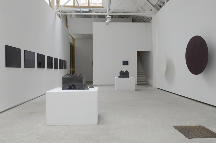 night house at day time , Catherine Bastide gallery, Brussels,2011, exhibition view