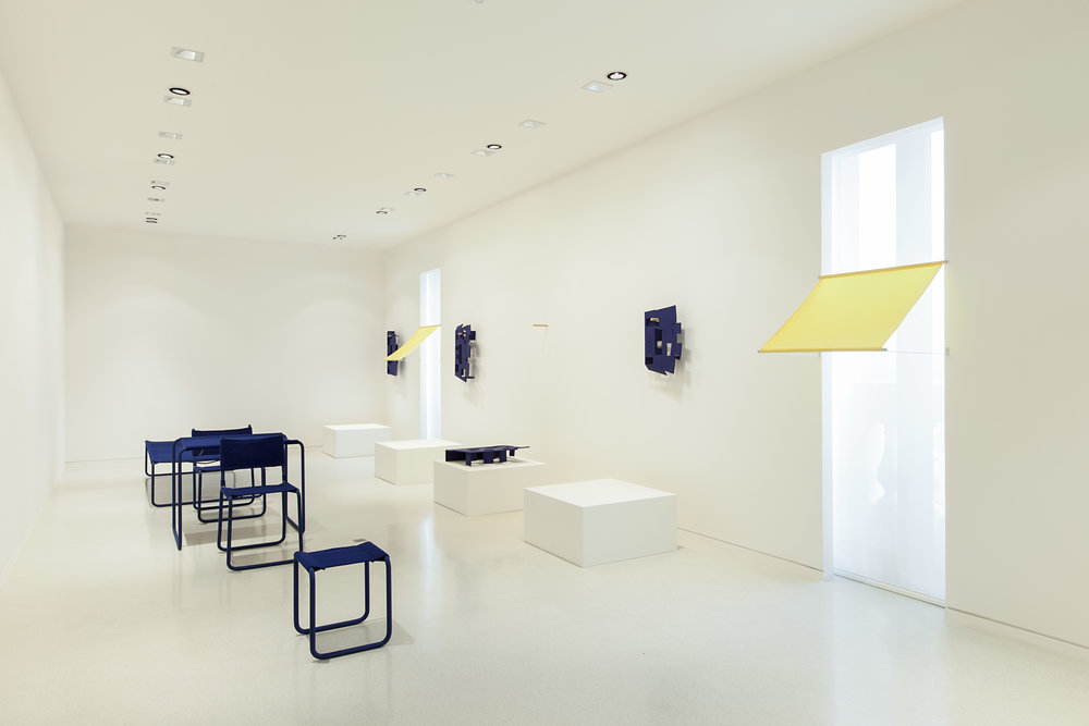 folding house (to be continued) , Nouveau Musée National de Monaco, 2015, exhibition view. Photo credit: Andrea Rossetti