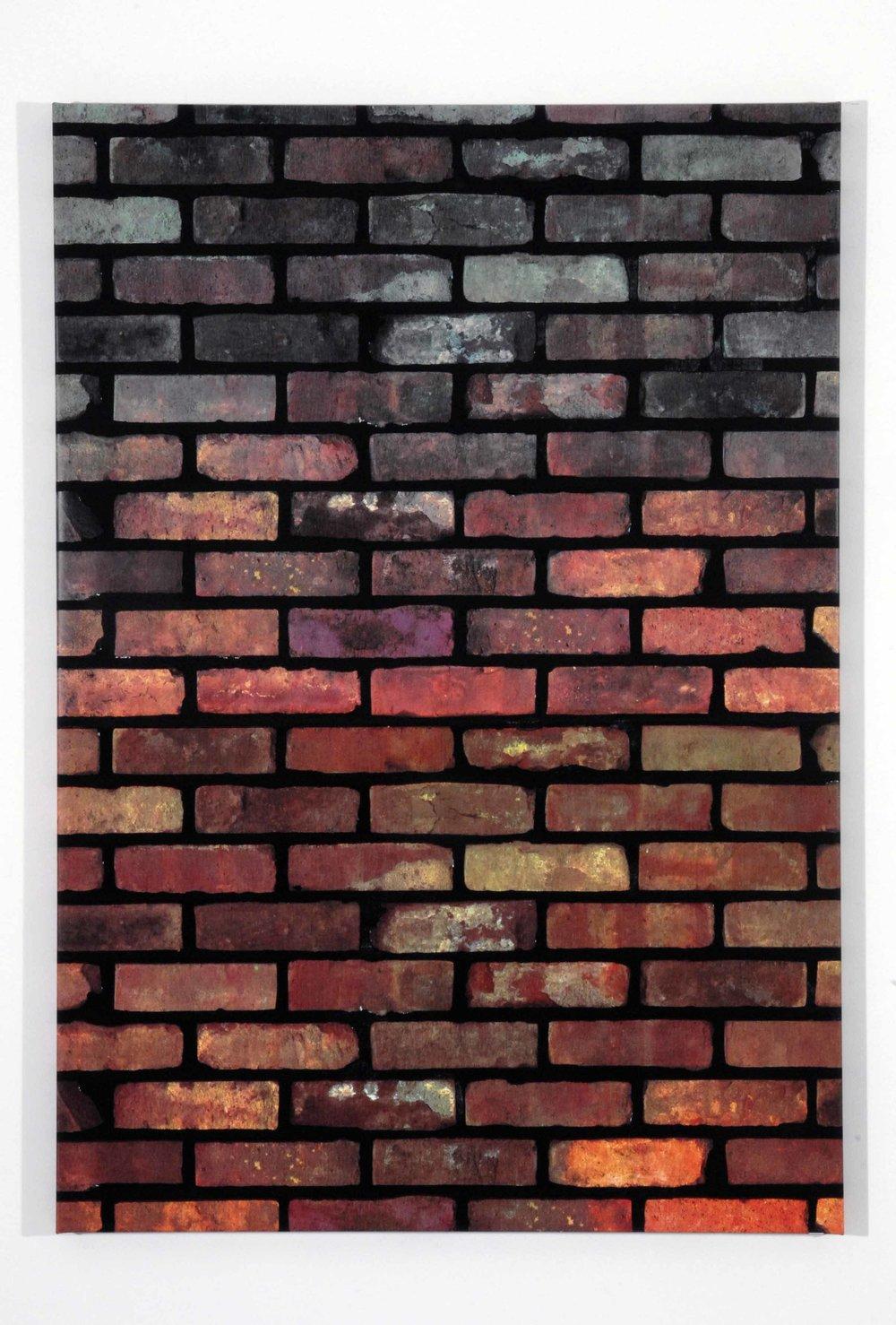 Kelley Walker,Untitled, 2006, four color process silkscreen on canvas, 136 x 95 cm (53.54 x 37.40 inch)