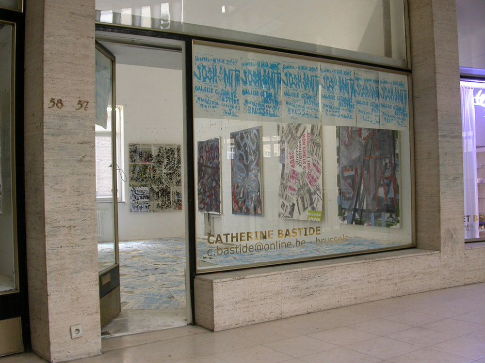 Josh Smith,   Ravenstein galleries, Brussels, 2005