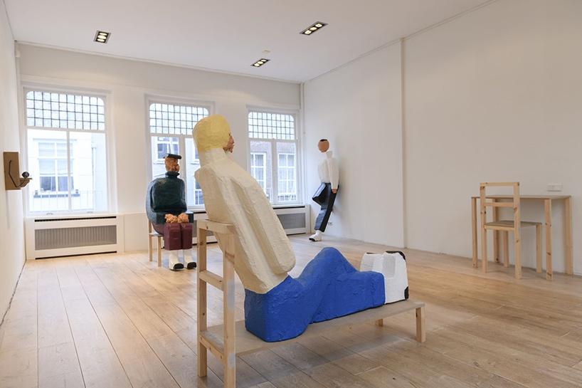 Gijs Milius,  gezelligheidsvereniging De Bovenkamer,  Mieke van Schaijk, Hertogenbosch, NL, 2018, exhibition views